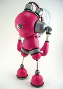 kidrobot munny dunny friendly robot art mike slobot slomunny