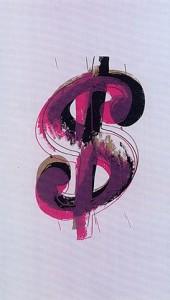 Warhol - Paper Dollar